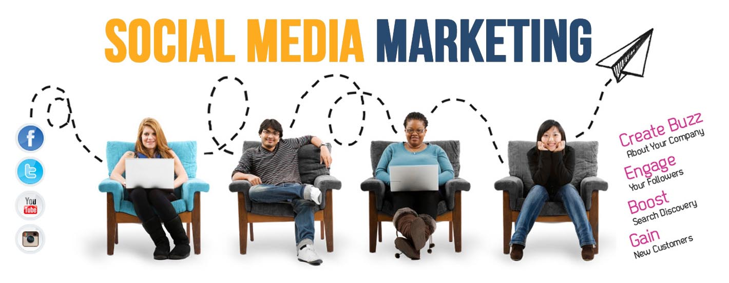 SOCIAL MEDIA MARKETING COURSES TRAINING INSTITUTE SMM BANNER