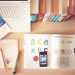 apple-iphone-books-desk - Proideators Digital Marketing Course Training Institute