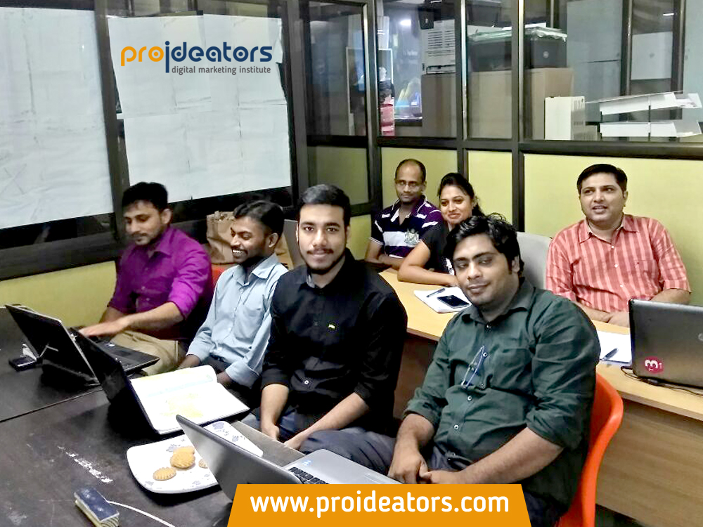 Proideators Digital Marketing Course Training Institute Navi Mumbai batch August 2016 - Proideators Digital Marketing Course Training Institute