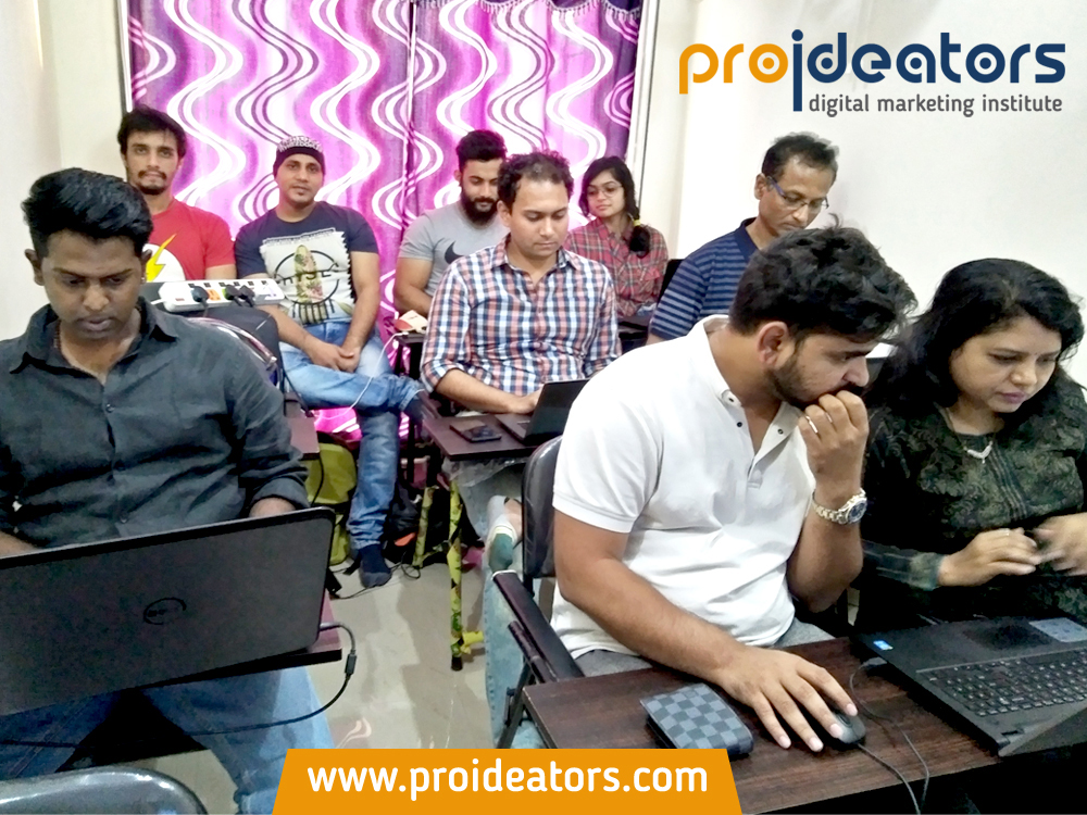 Proideators Digital Marketing Batch