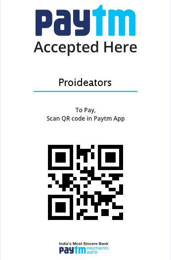 Proideators PayTM Payment Gateway