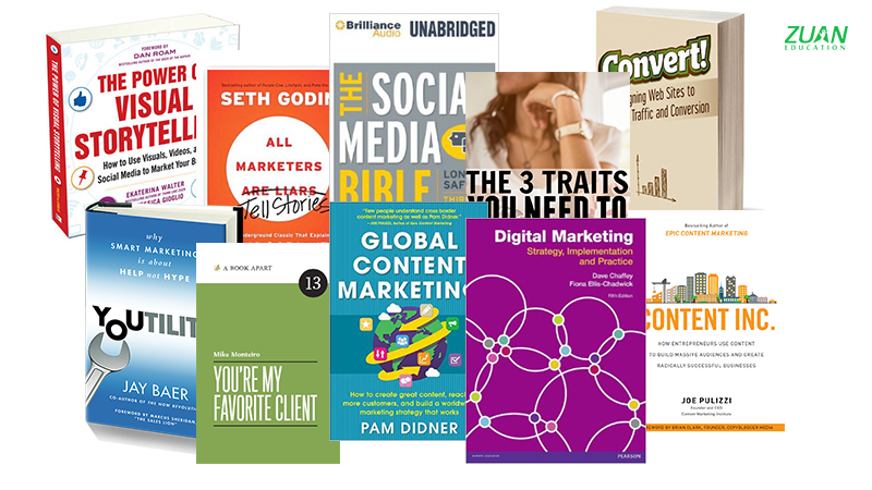 Top 5 books every Digital Marketer must read Tech Library