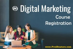 Top 5 Questions must be asked before registration in digital marketing training institute Pro iDeators