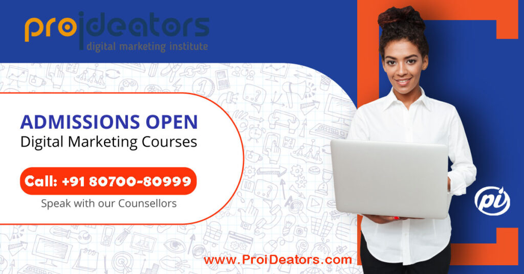What would be the scope of digital marketing courses in India ProiDeators