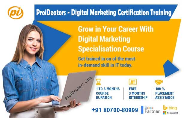 Why ProiDeators is the best digital marketing Course institute in Thane